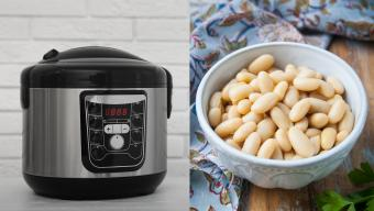 Instant Pot and white beans