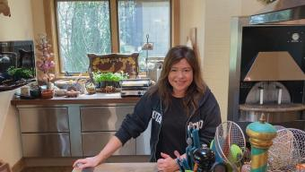 Rachael Ray at home