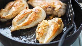 Chicken Breasts Cooking