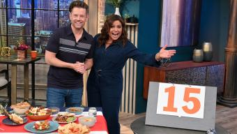 Rachael Ray and Richard Blais