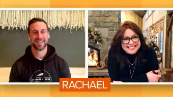 Alex Smith and Rachael Ray