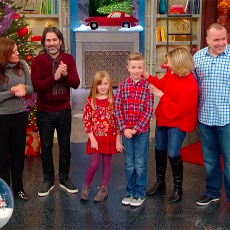 17711f1b21 We Helped These Parents Surprise Their Kids With a Rescue Puppy for  Christmas + They Were Basically Speechless · Rachael Ray