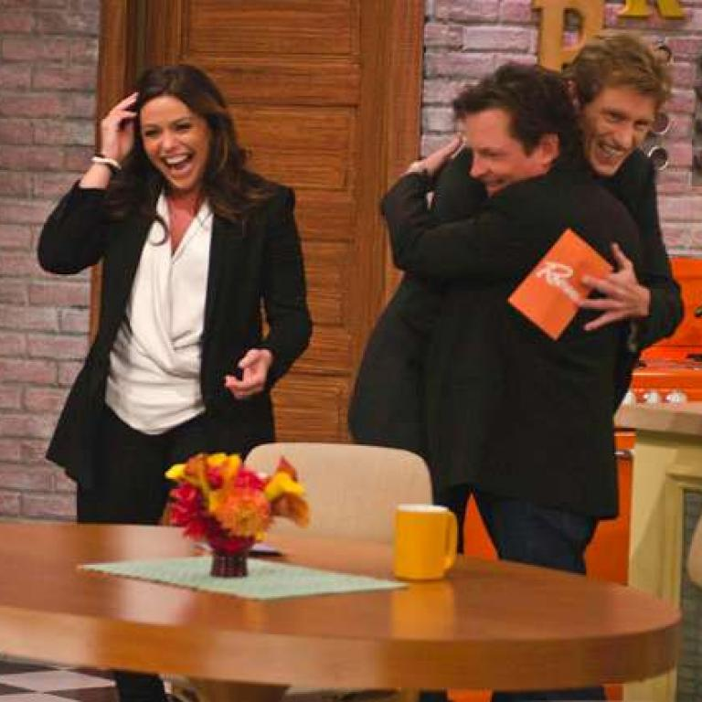 Rachael Ray, Denis Leary and Michael J. Fox
