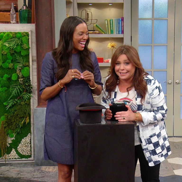 rachael ray show. Black Bedroom Furniture Sets. Home Design Ideas