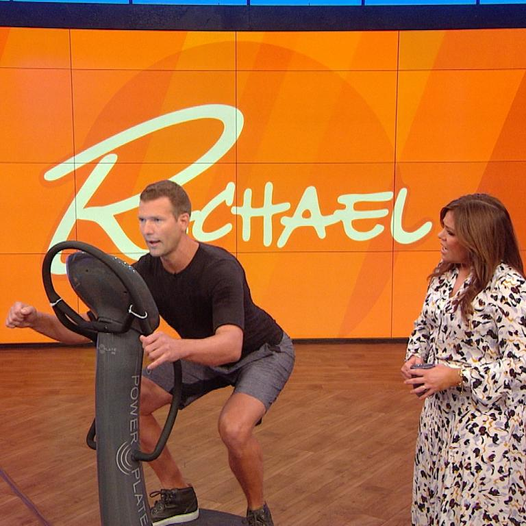 Travis Stork and Rachael Ray