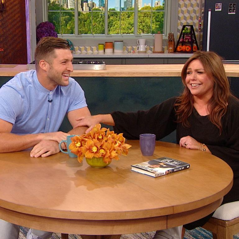 Tim Tebow and Rachael Ray