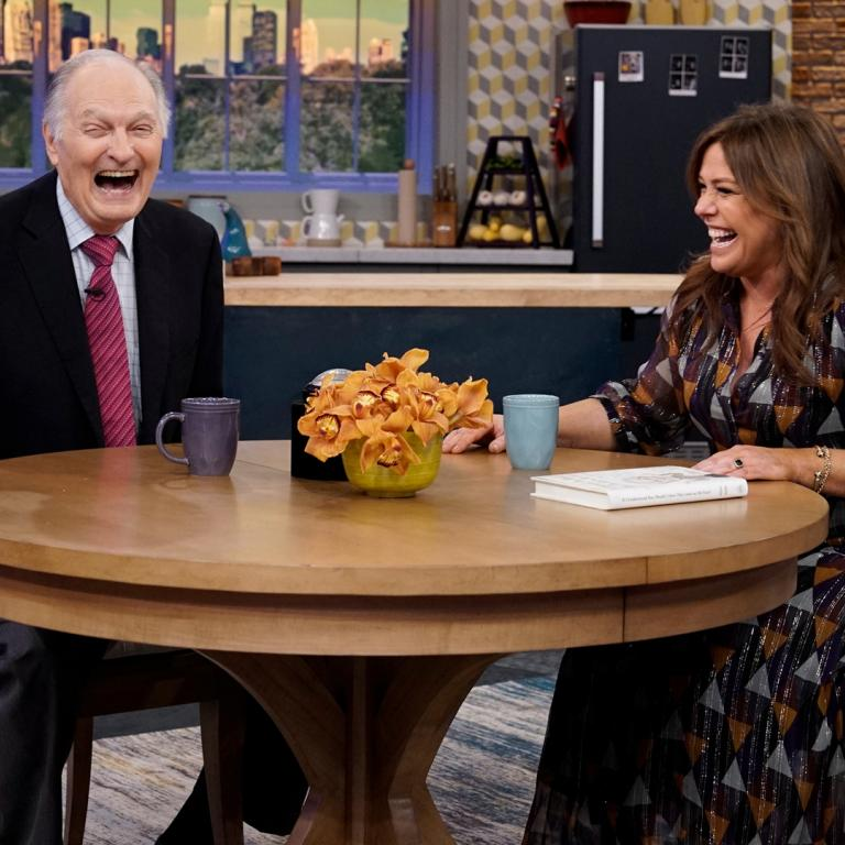Alan Alda and Rachael Ray