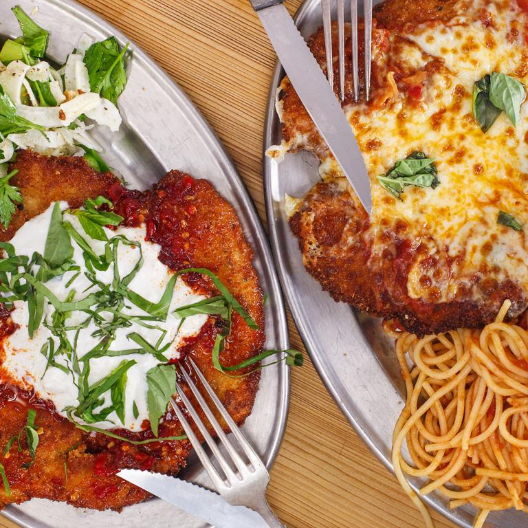 Rachael's Spicy Chicken Parm