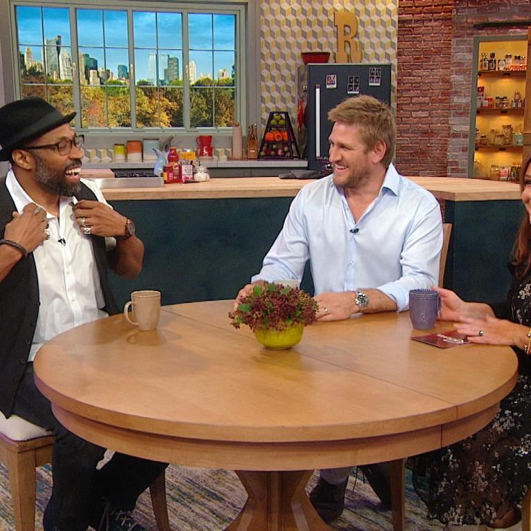 cress williams curtis stone rachael ray