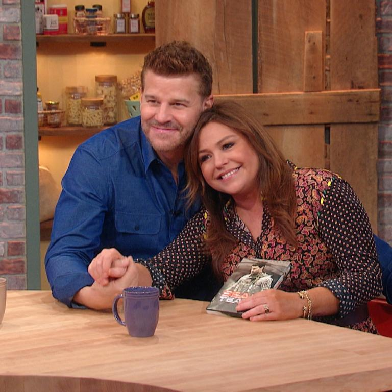 David Boreanaz and Rachael Ray