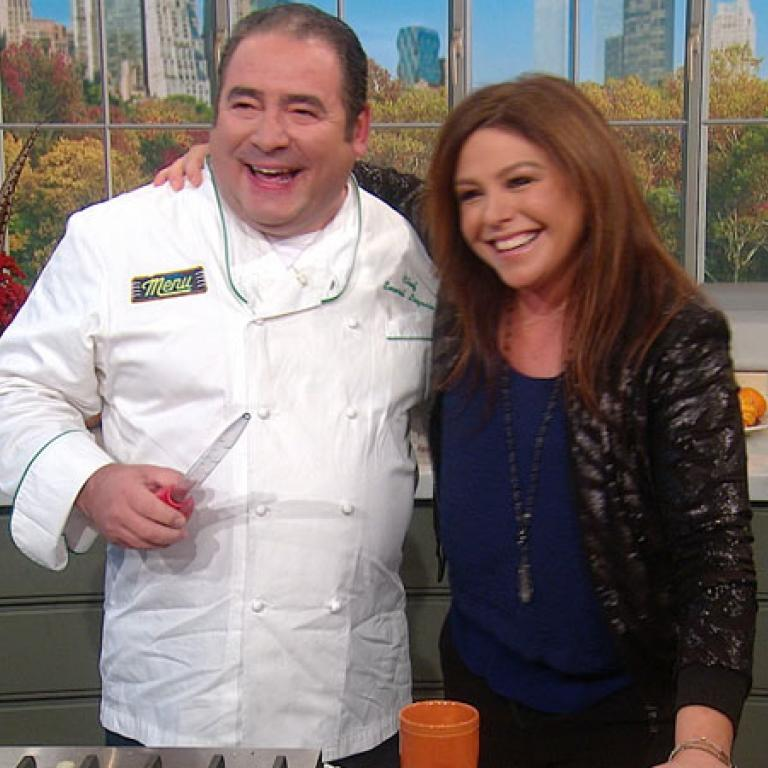 Emeril and Rachael