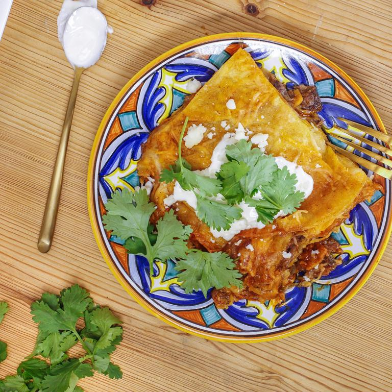 Short Rib Enchiladas