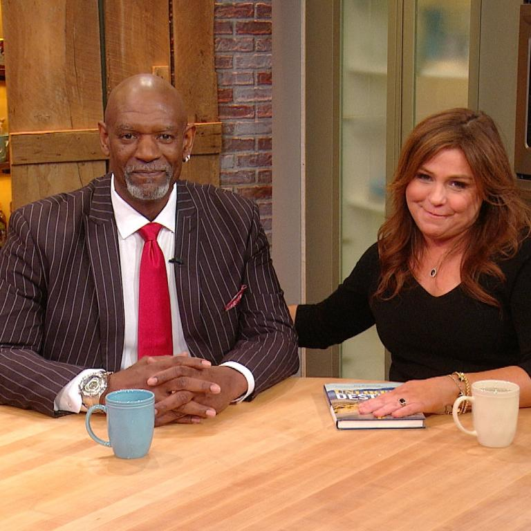 Joe Pryor and Rachael Ray