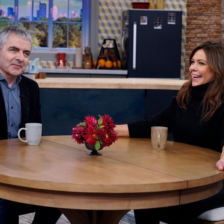 rowan atkinson and rachael ray