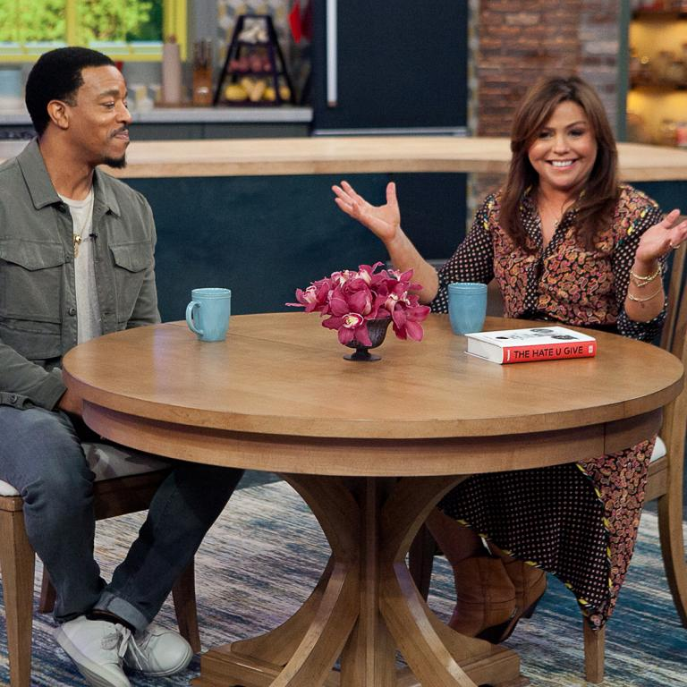 Rachael Ray and Russell Hornsby