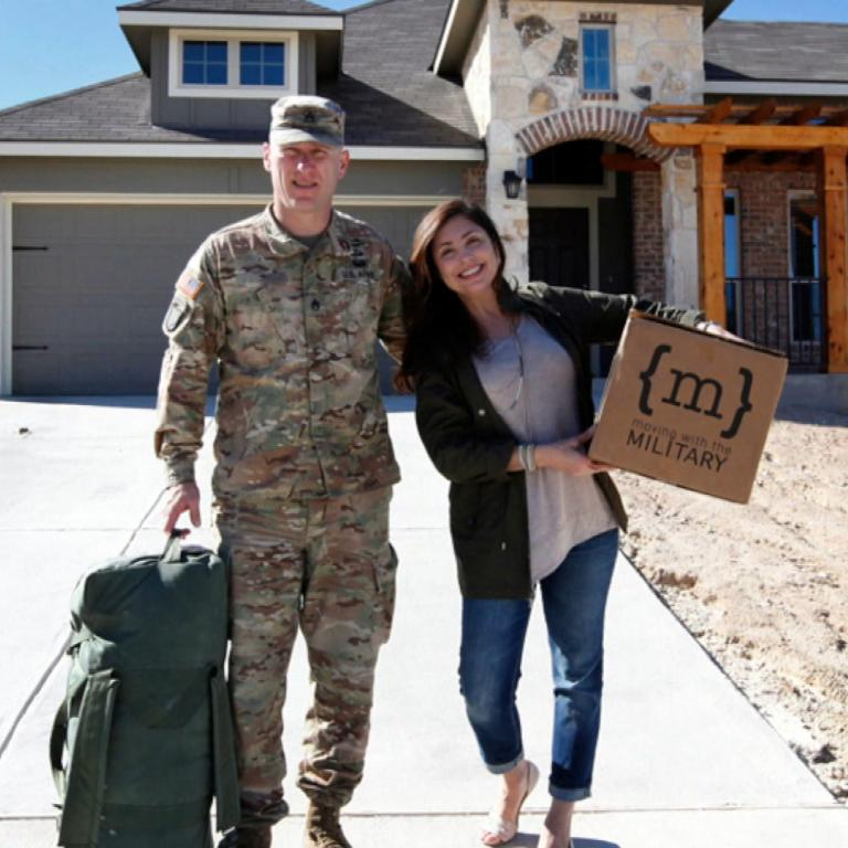 moving with the military host