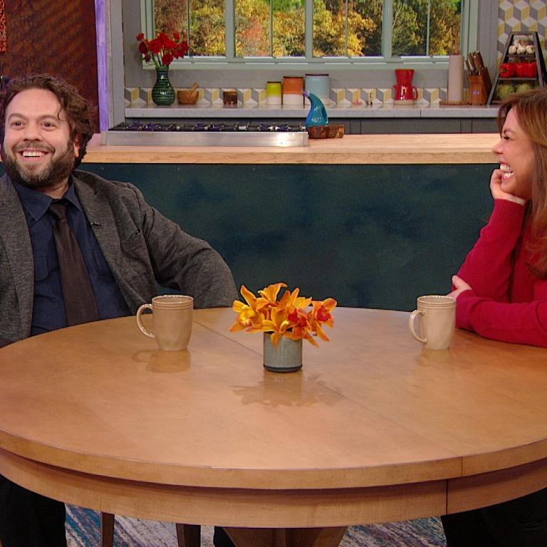 Dan Fogler and Rachael Ray