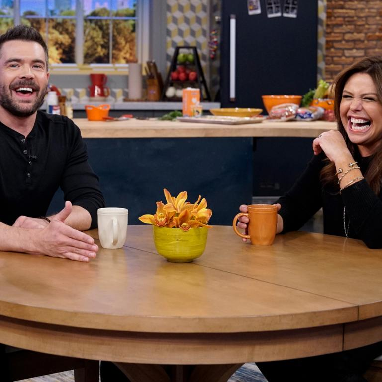 charlie weber and rachael ray