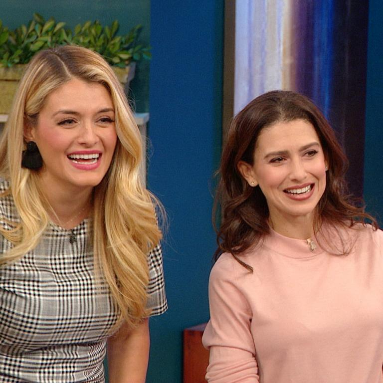 Daphne Oz and Hilaria Baldwin