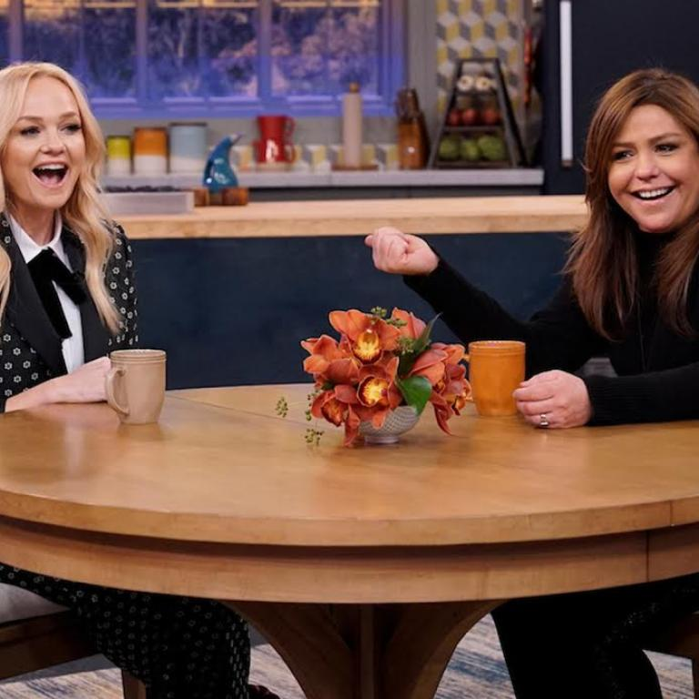 Emma Bunton and Rachael Ray