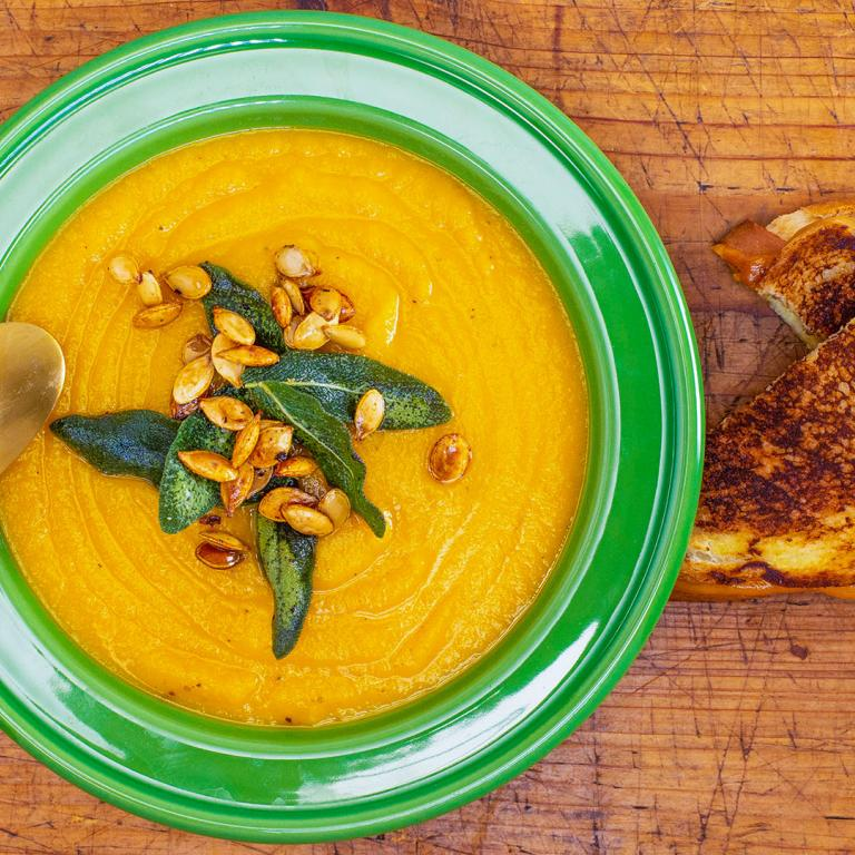 Cheese Pumpkin Soup