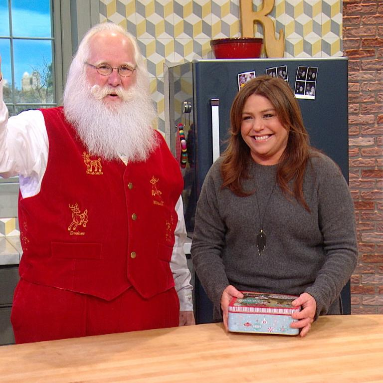 Santa Tom and Rachael Ray