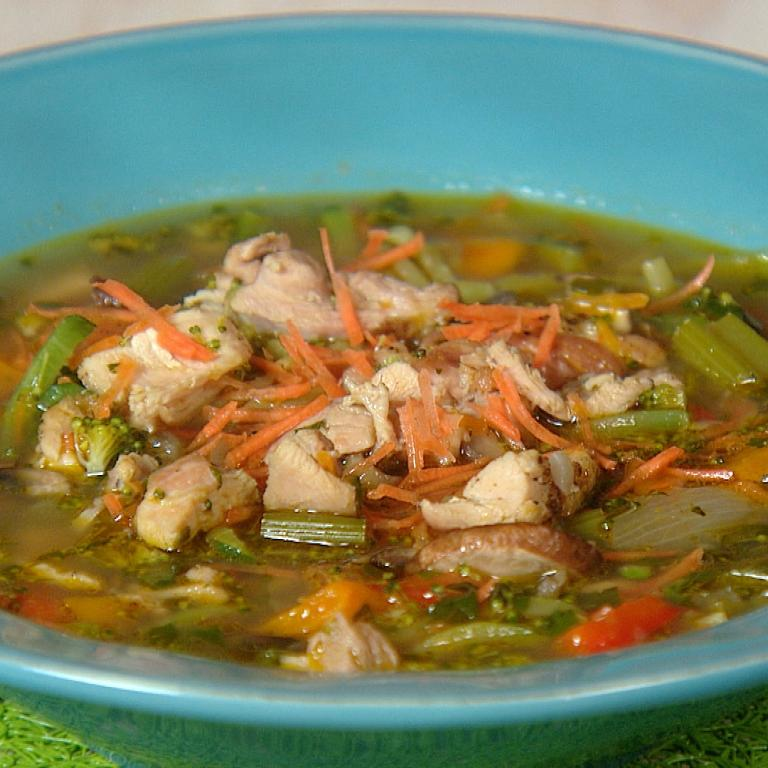 "Chicken ""Gurley"" Soup"