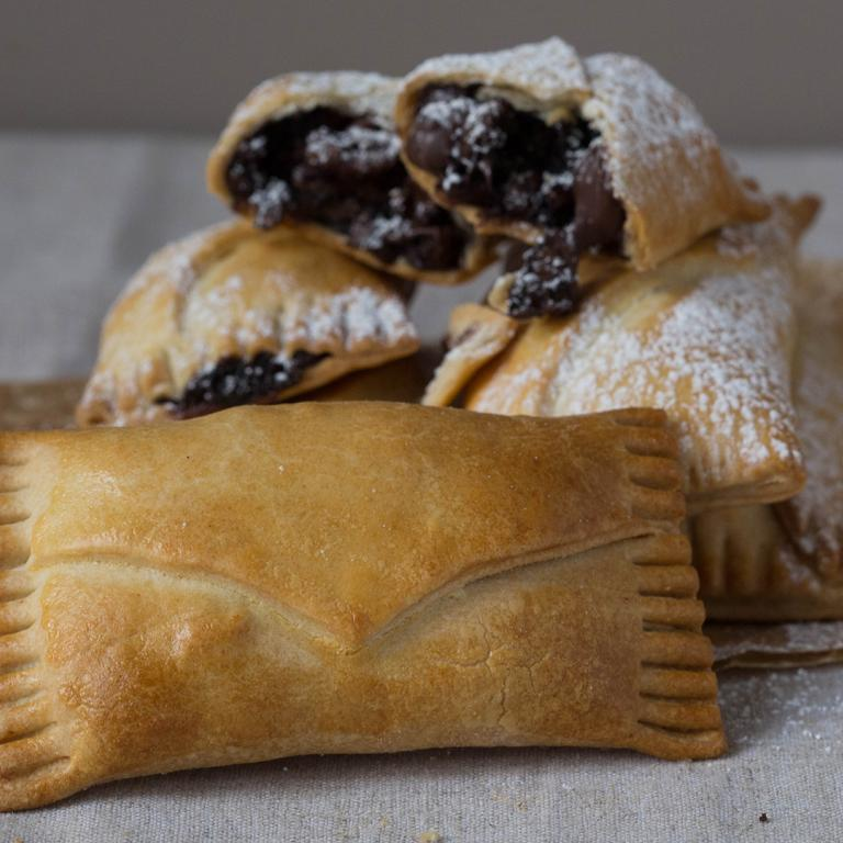 Chocolate-Pecan Hand Pies
