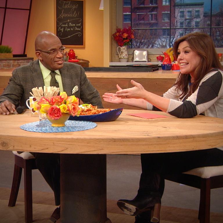 Al Roker and Rachael Ray
