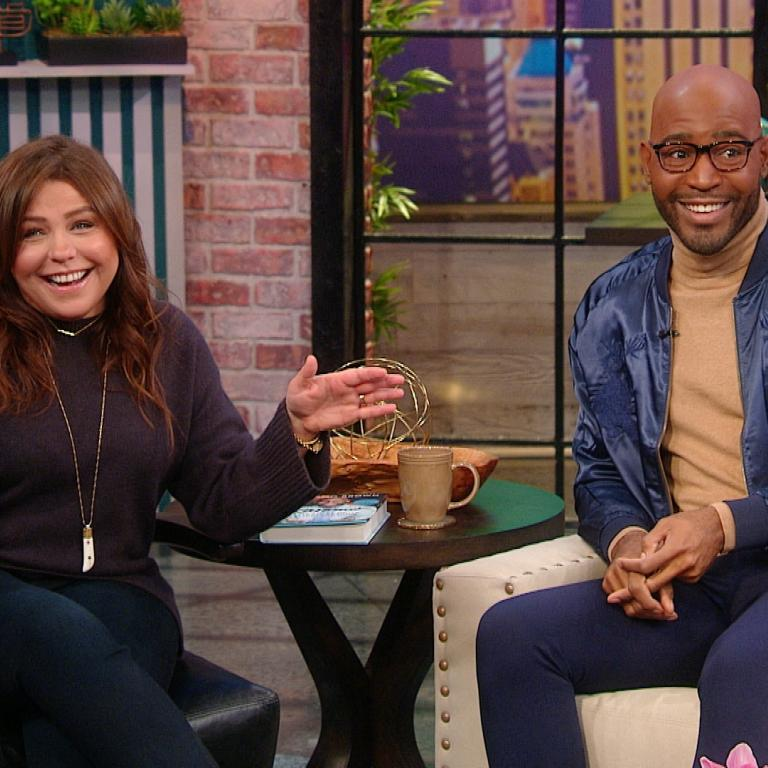 Rachael Ray and Karamo Brown