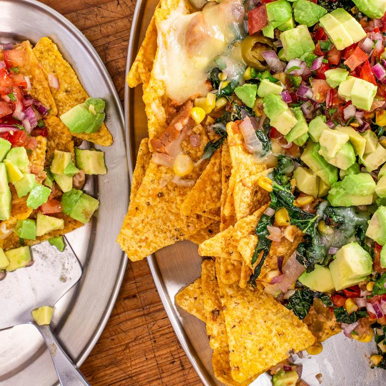 Amped-Up Vegetable Nachos