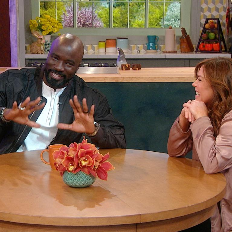 Mike Colter & Rachael Ray