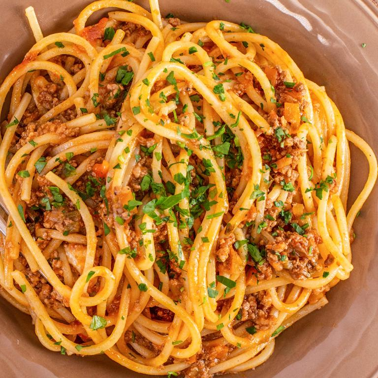 Rachael's Three-Meat Bolognese Sauce