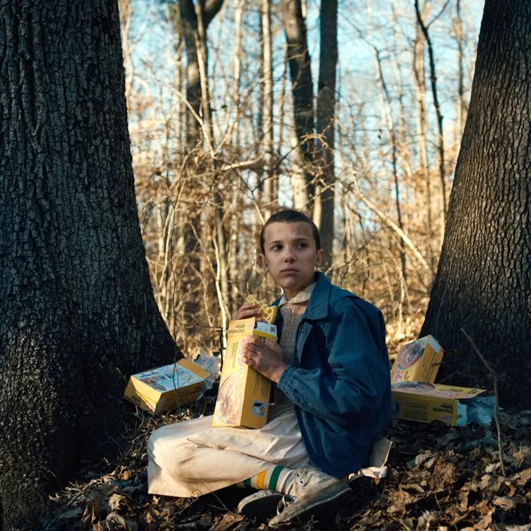 """Stranger Things"" Eleven season one"