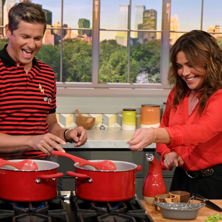 Rachael Ray and David Burtka