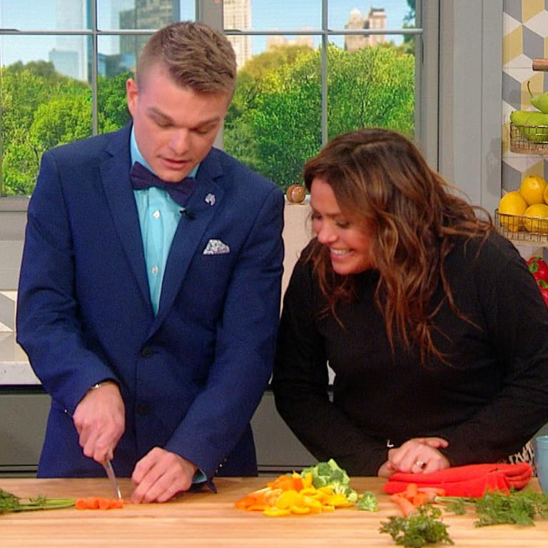 Rachael Ray and show guest