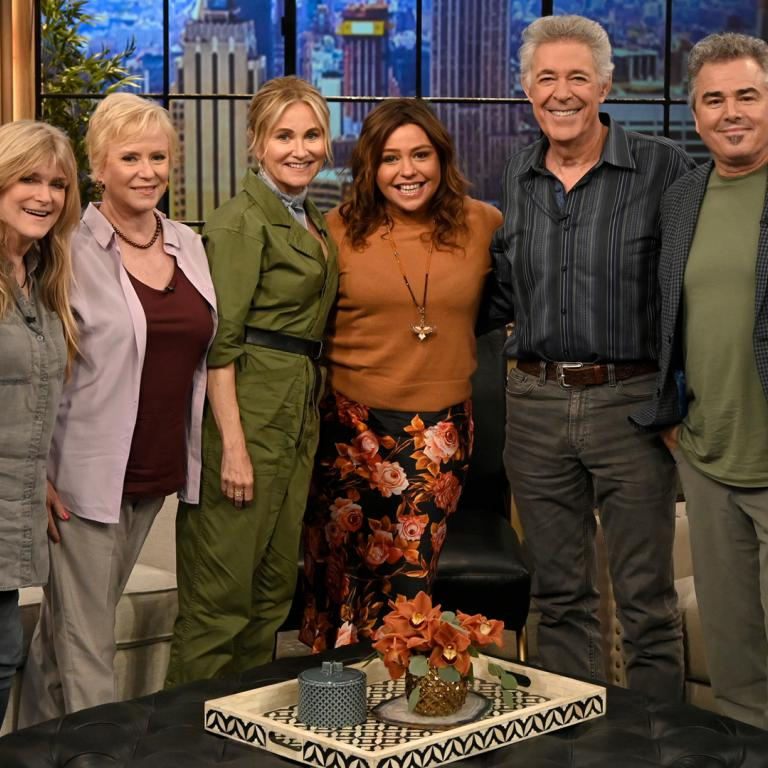 brady bunch cast on rachael ray show