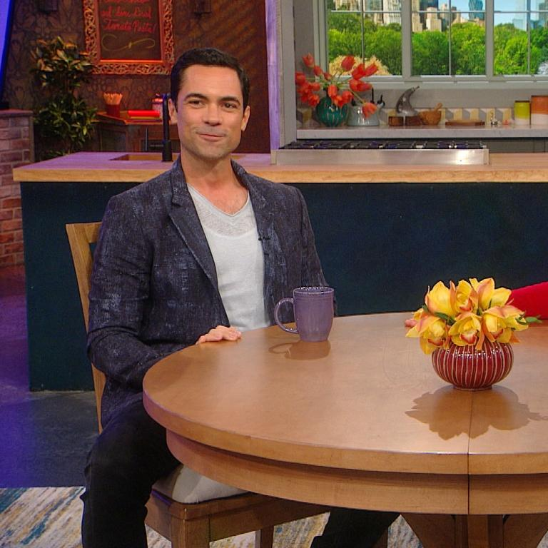 Danny Pino and Rachael Ray