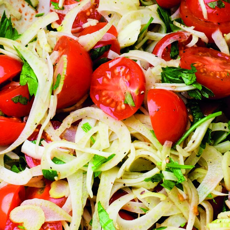 fennel tomato salad