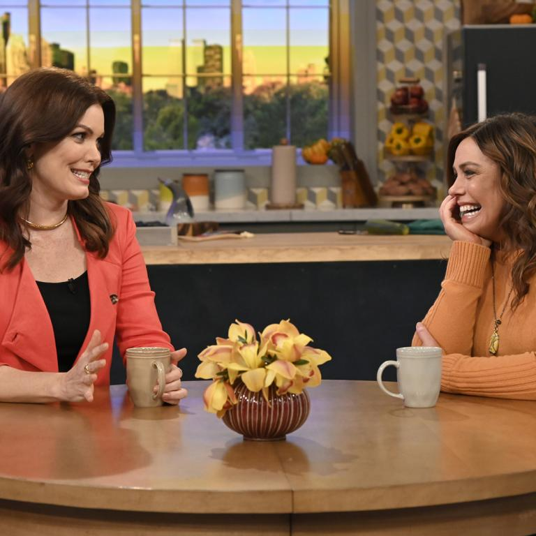 Rachael Ray and Bellamy Young