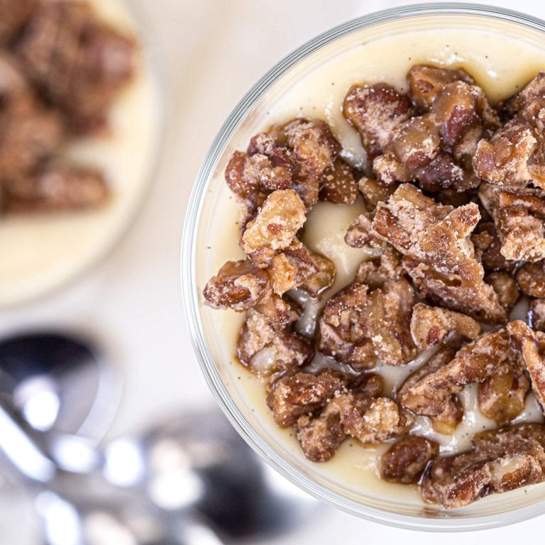Pecan pie pudding
