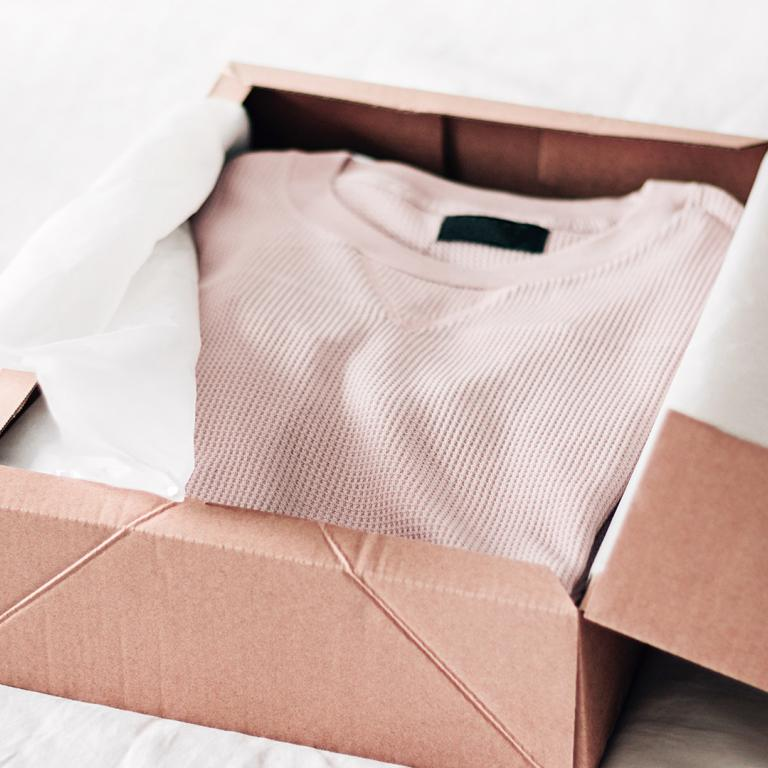 clothing box