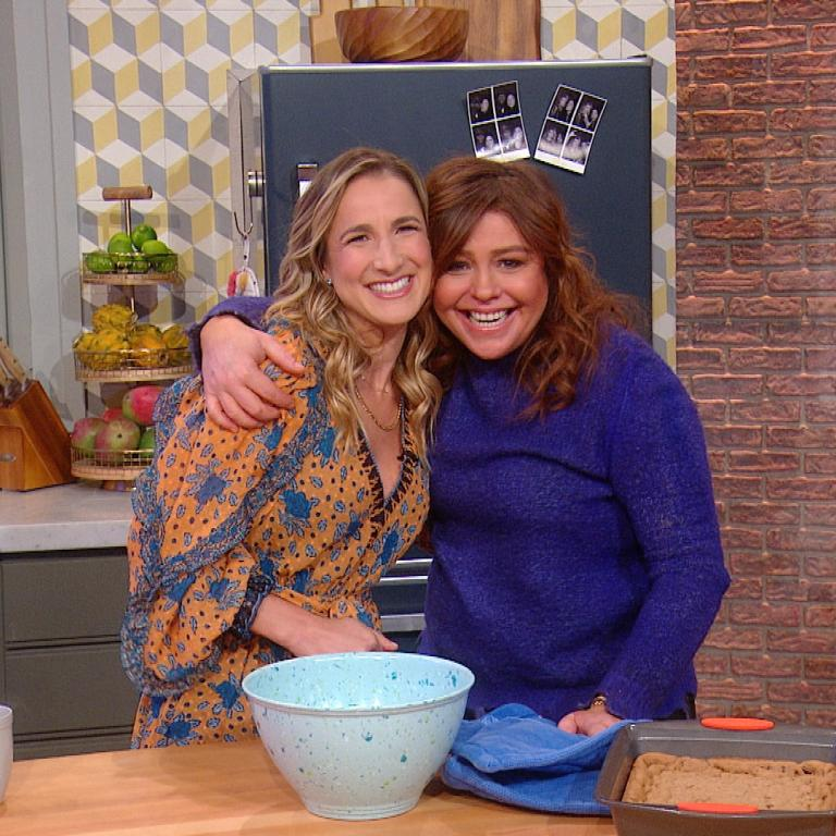 Loren Brill and Rachael Ray