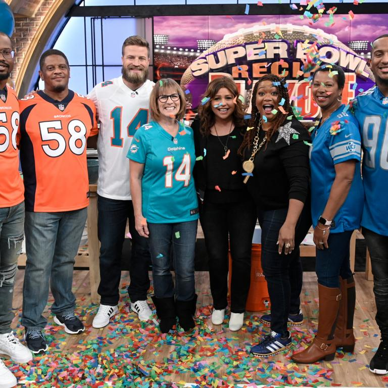super bowl recipe playoff rachael ray show