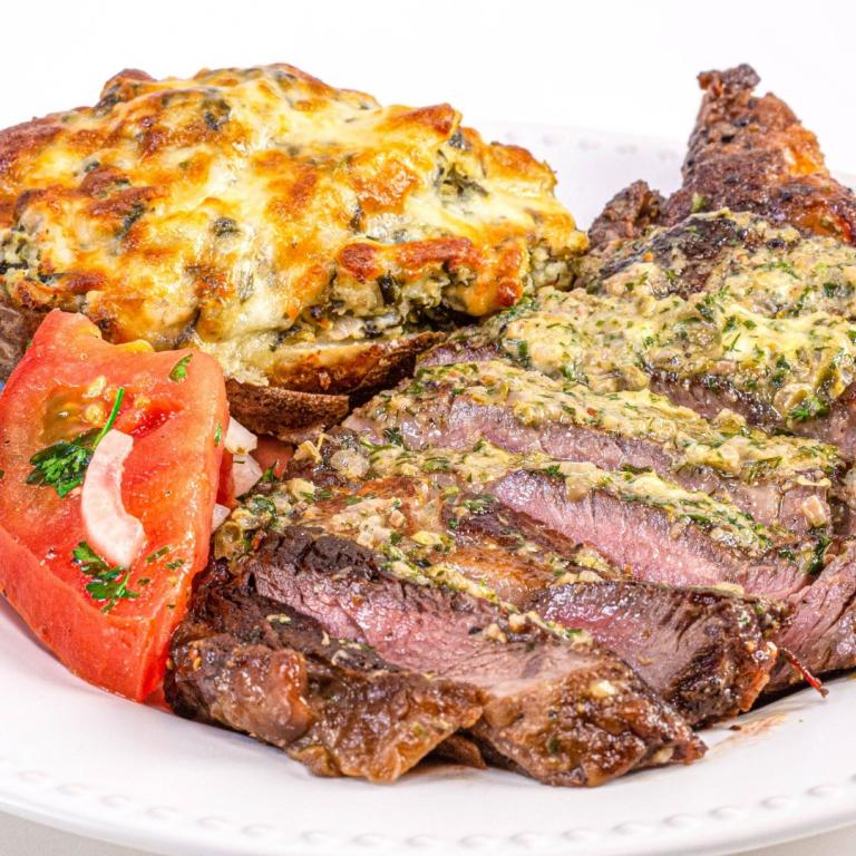 Steak with Dijon-Herb Butter Recipe