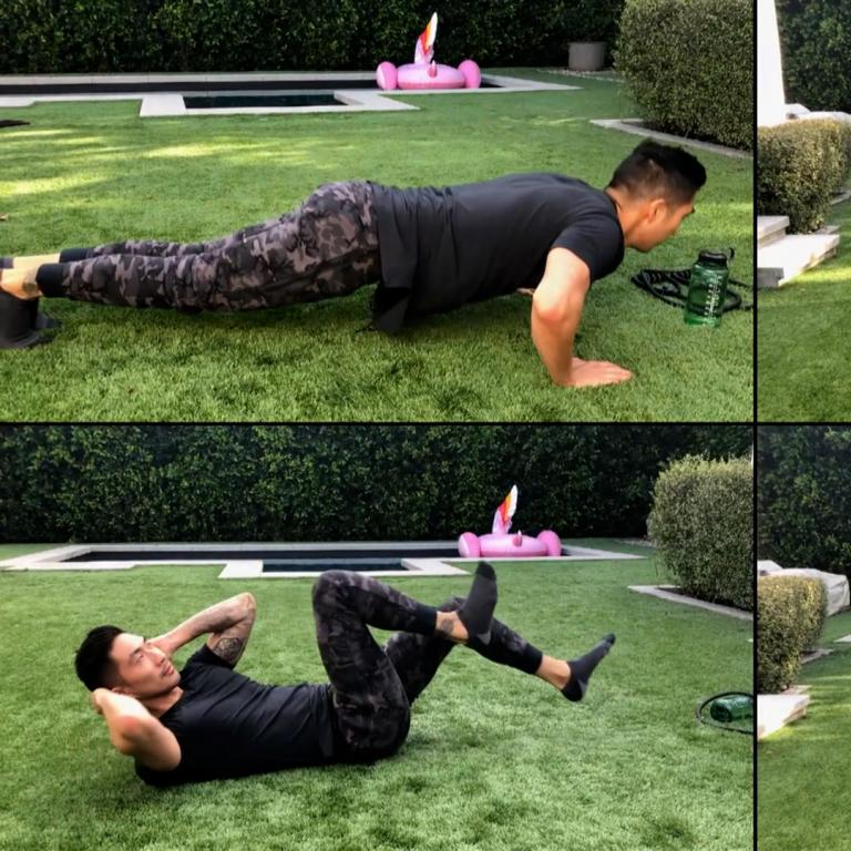 ronnie woo workout