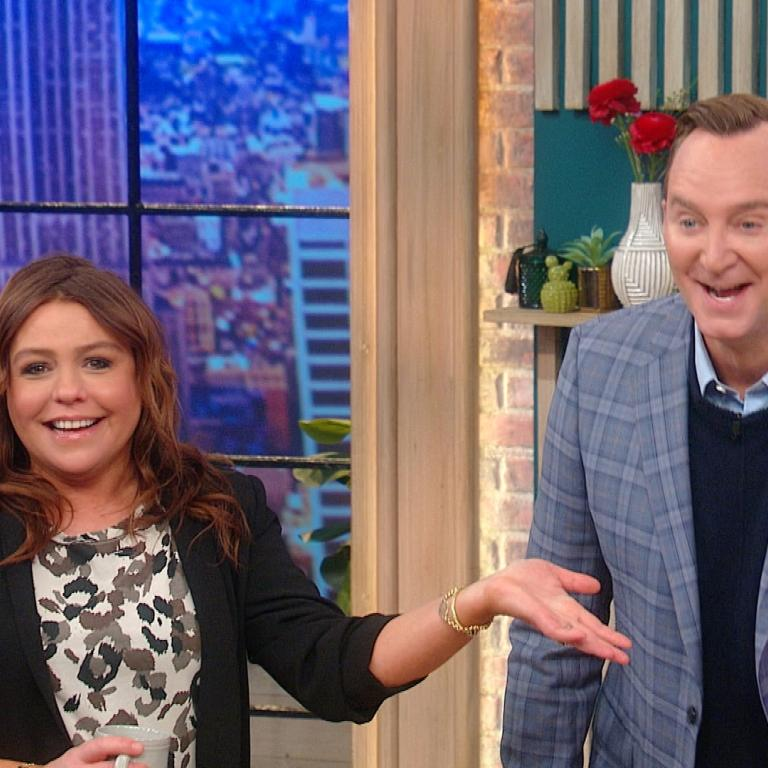 Rachael Ray and Clinton Kelly