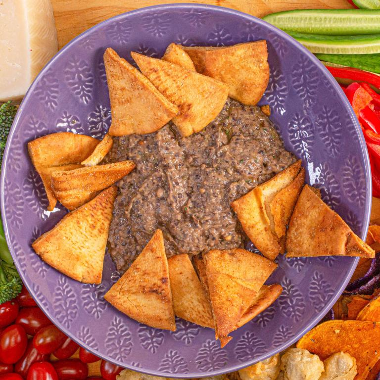 Black Bean and Hummus