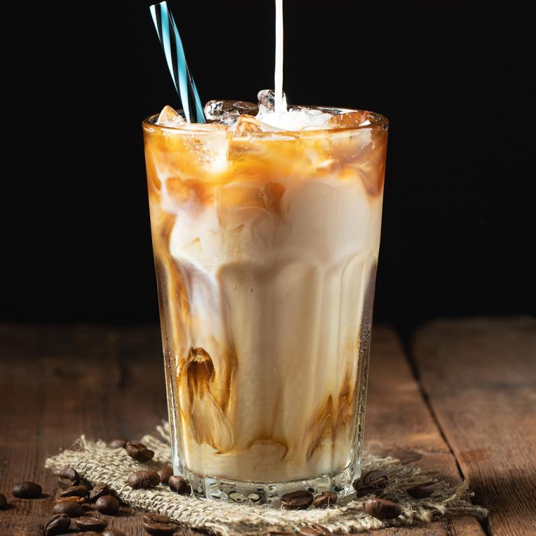 coffee egg cream cocktail