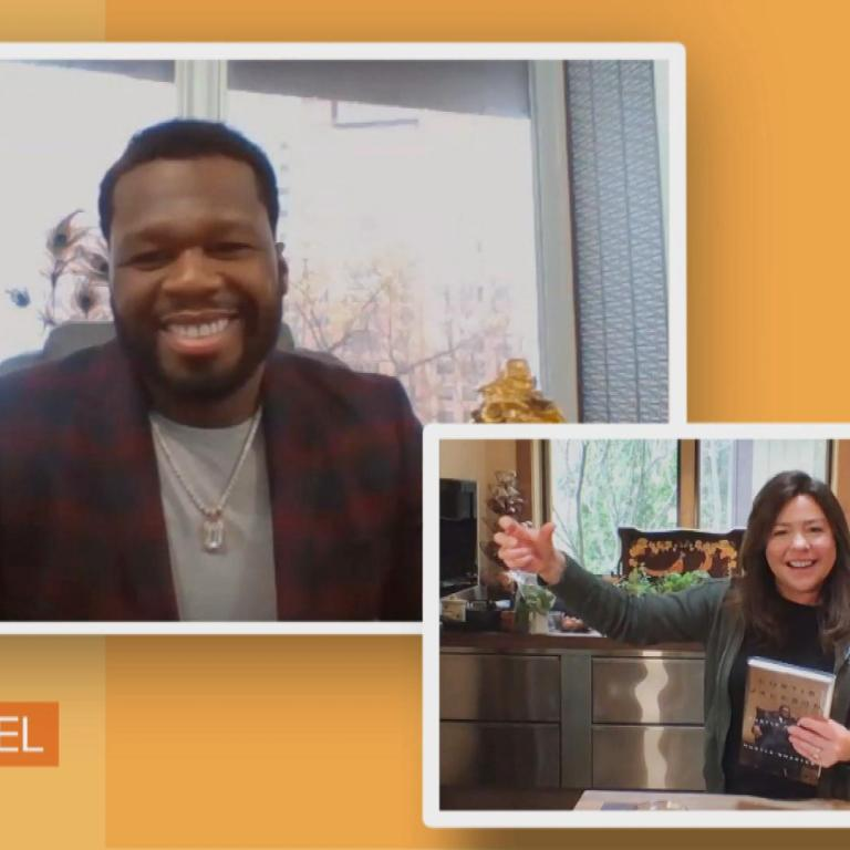 "Curtis ""50 Cent"" Jackson talks to Rachael Ray about his new book"